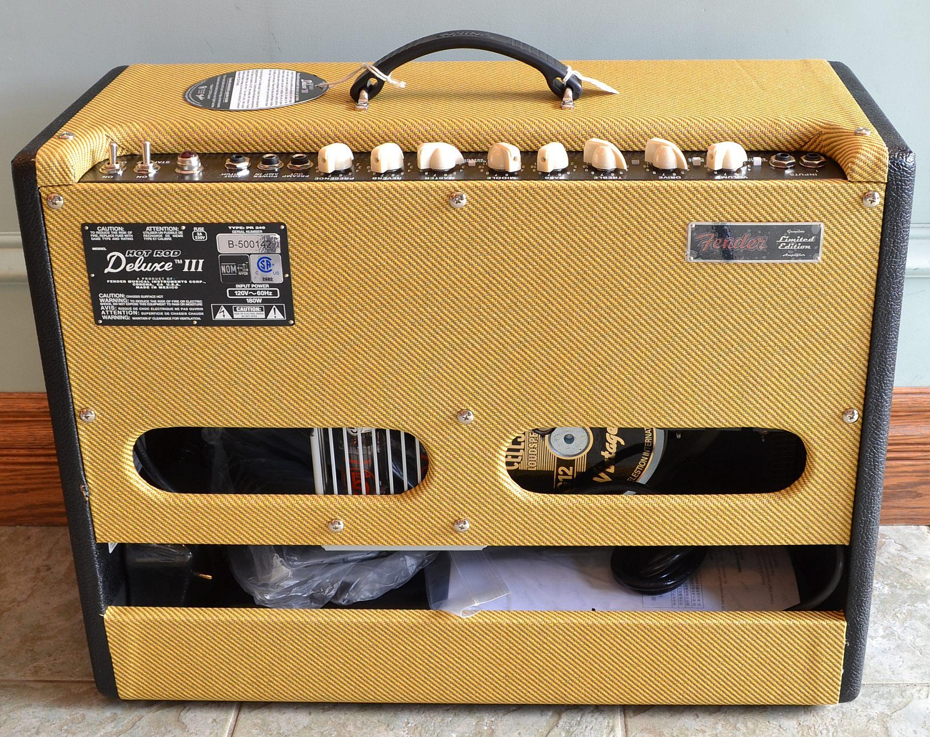 Fender Hot Rod Deluxe Iii Tweed Fender_hot Rod Deluxe 3 Ltd
