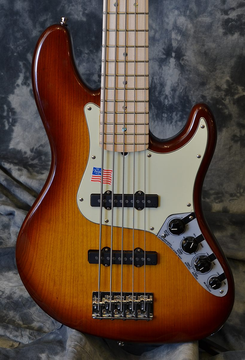 Fender Jazz Bass Deluxe Five String 2007