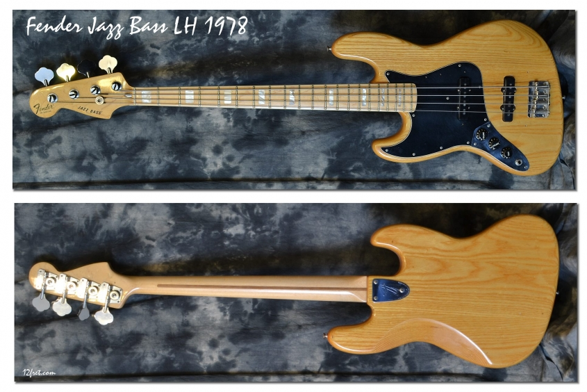 Fender_Jazz Bass LH_1978(C)