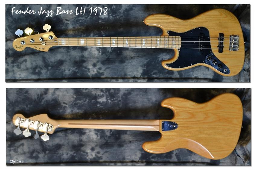 Fender_Jazz Bass LH_1978(C)