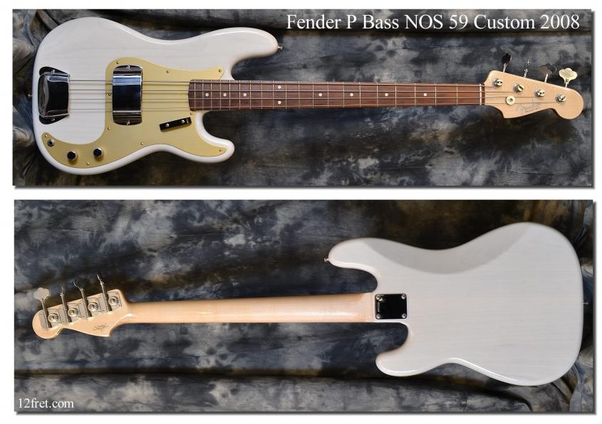 Fender_PBass_NOS 59 Cust_2008(C)