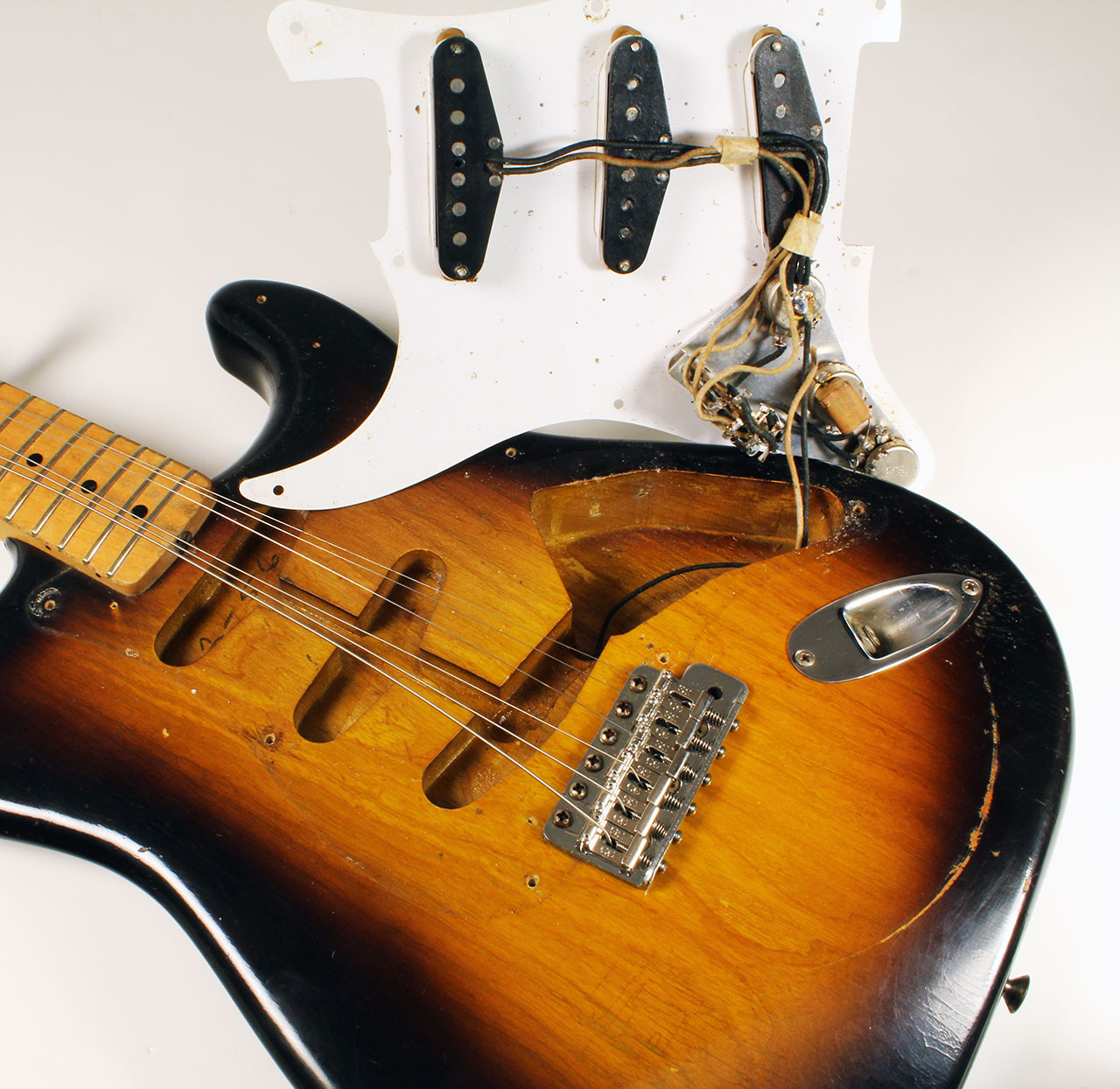 Fender Stratocaster Neck >> Fender Stratocaster 1956 | www.12fret.com