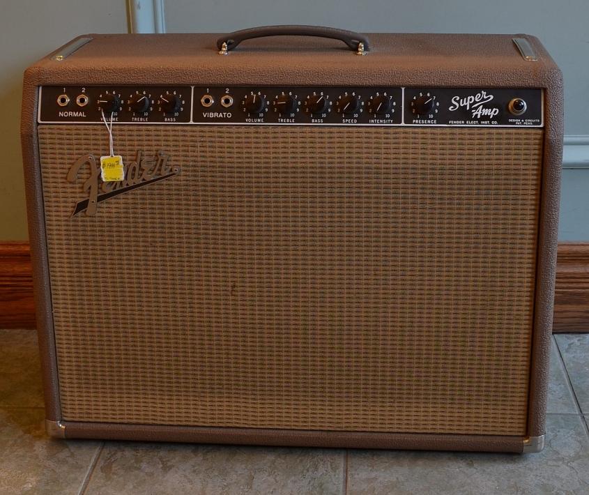 Fender_Super Amp_1962(used)