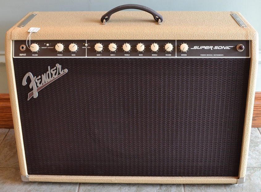 Fender_SuperSonic Blonde(used)