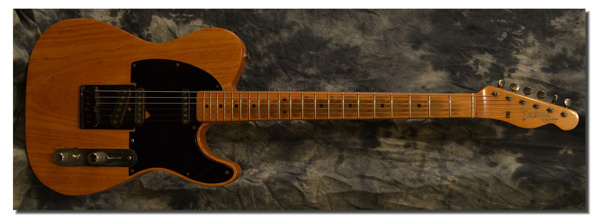 Fender Telecaster Natural 1966 - www.12fret.com