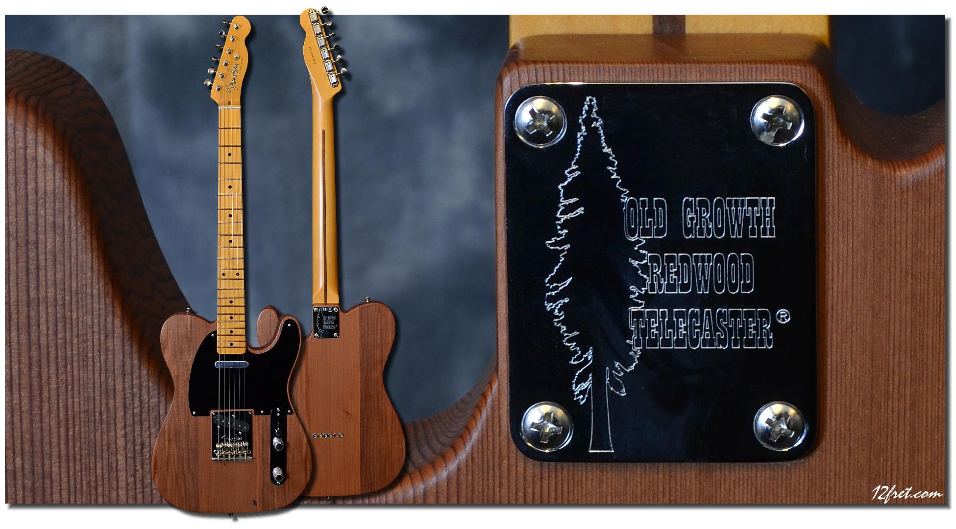 Fender Old Growth Redwood Telecaster Www 12fret Com