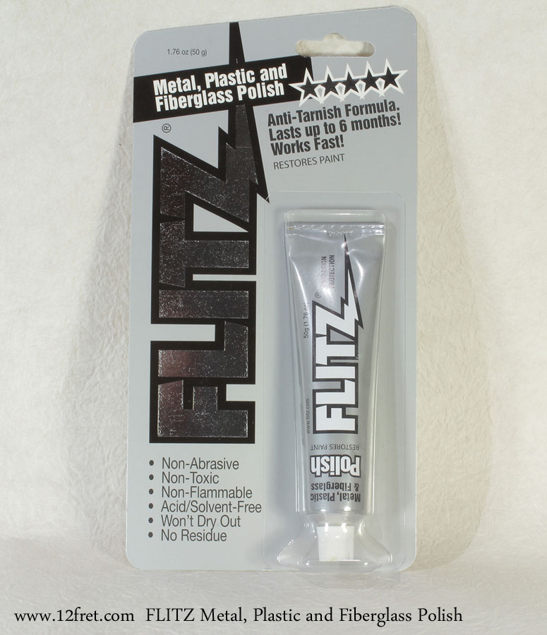 FLITZ Metal, Plastic and Fiberglass Polish Full Front VIew