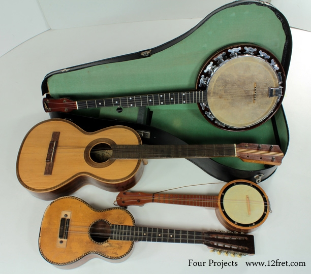 Four Project Instruments front view