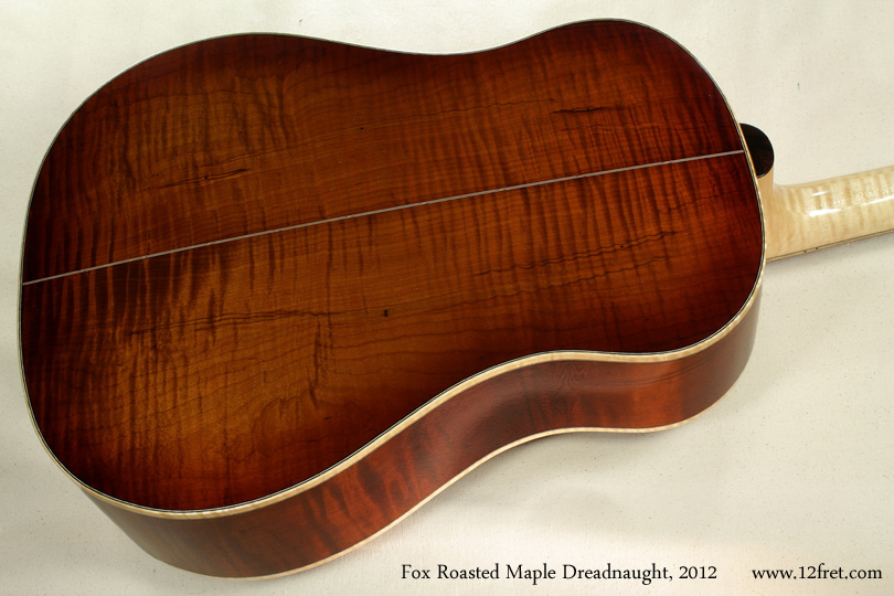 Fox Roasted Maple Dreadnought 2012 back