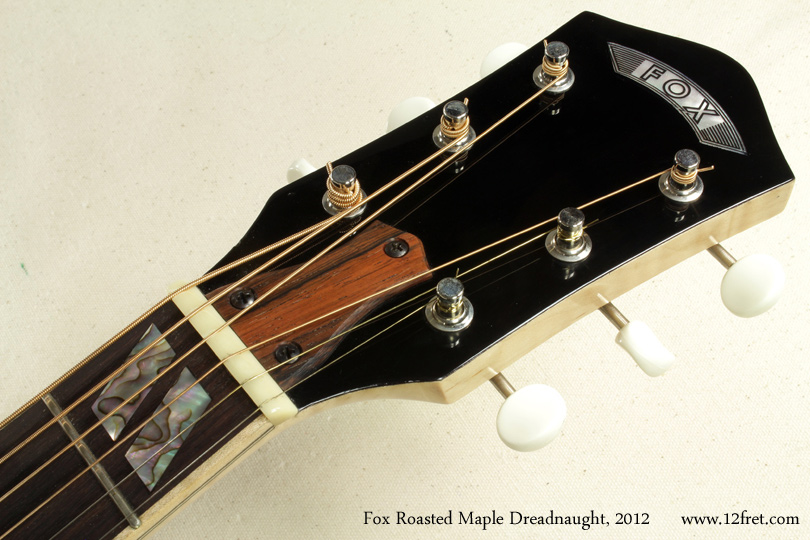 Fox Roasted Maple Dreadnought 2012 head front