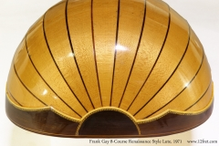 Frank Gay 8-Course Renaissance Style Lute, 1971 Tail View
