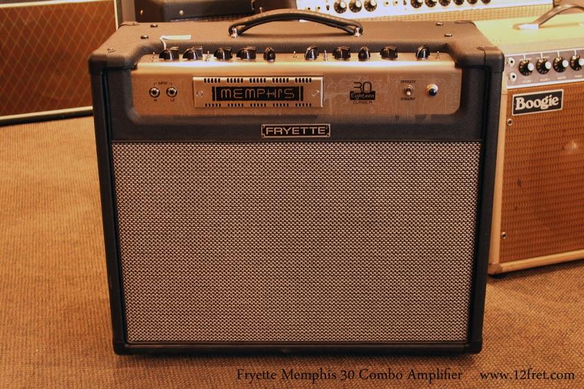 Fryette Memphis 30 Combo Amplifier, 2010 Full Front View