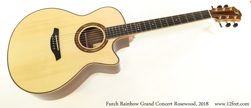 Furch Rainbow Grand Concert Rosewood, 2018 Full Front View