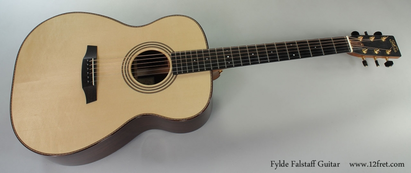 Fylde Falstaff Guitar Full Front View