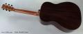 Fylde Falstaff Guitar Full Rear View