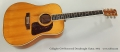 Gallagher G70 Rosewood Dreadnought Guitar, 1972 Full Front View