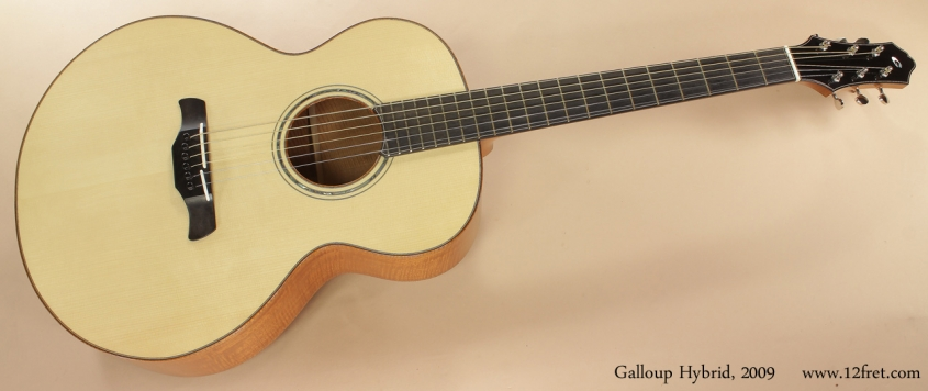 Galloup Hybrid Acoustic 2009 full front view