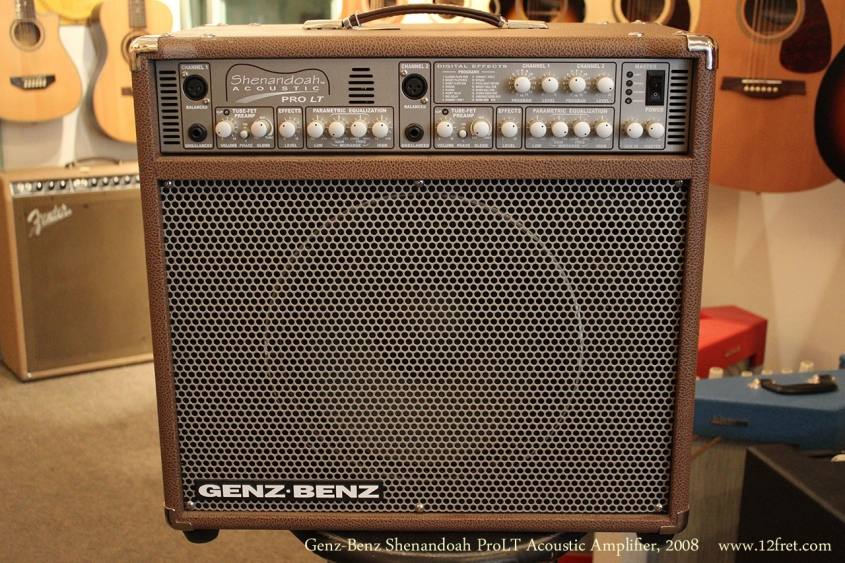 Genz-Benz Shenandoah ProLT Acoustic Amplifier, 2008 Full Front View