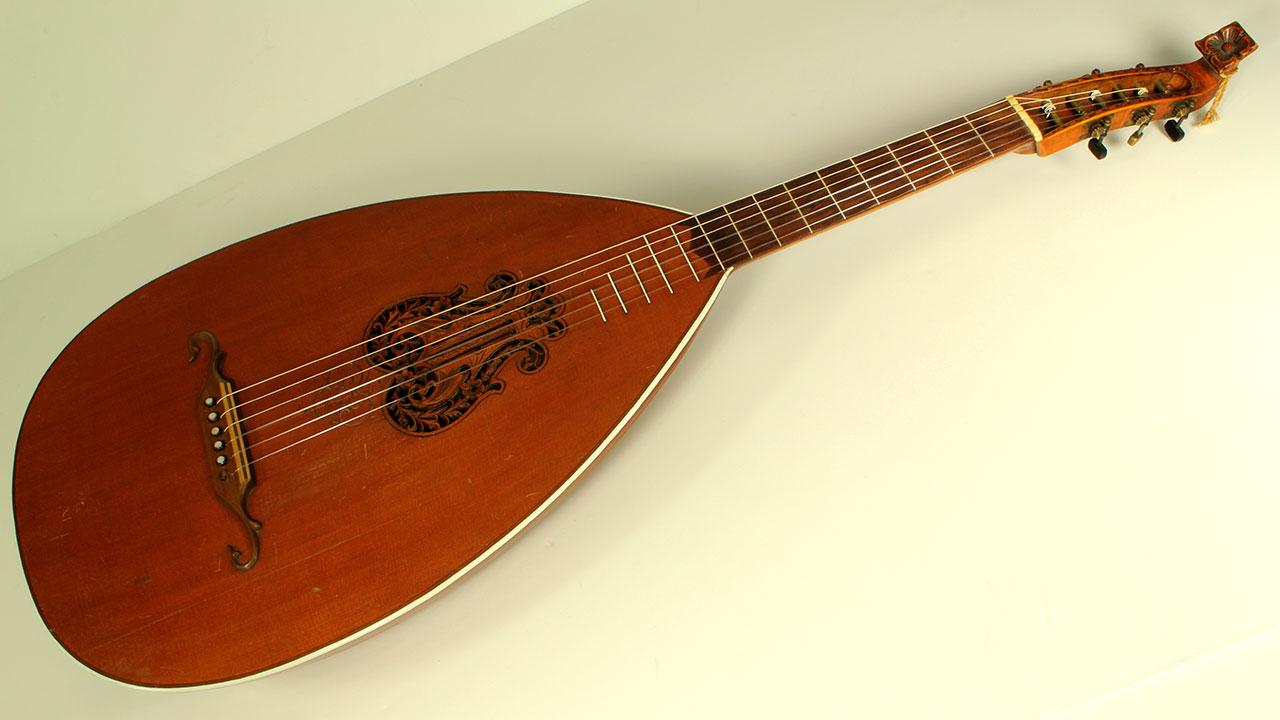 german guitar lute 1920 39 s. Black Bedroom Furniture Sets. Home Design Ideas