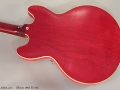 Gibson 1963 ES-335 Back