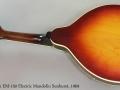 Gibson EM-150 Electric Mandolin Sunburst, 1969 Full Rear View
