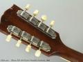Gibson EM-150 Electric Mandolin Sunburst, 1969 Head Rear