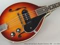 Gibson EM-150 Electric Mandolin Sunburst, 1969 Top