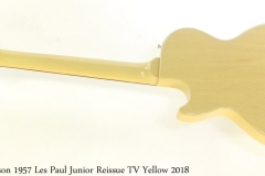 Gibson 1957 Les Paul Junior Reissue TV Yellow 2018 Full Rear View
