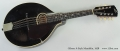 Gibson A-Style Mandolin, 1928 Full Front View