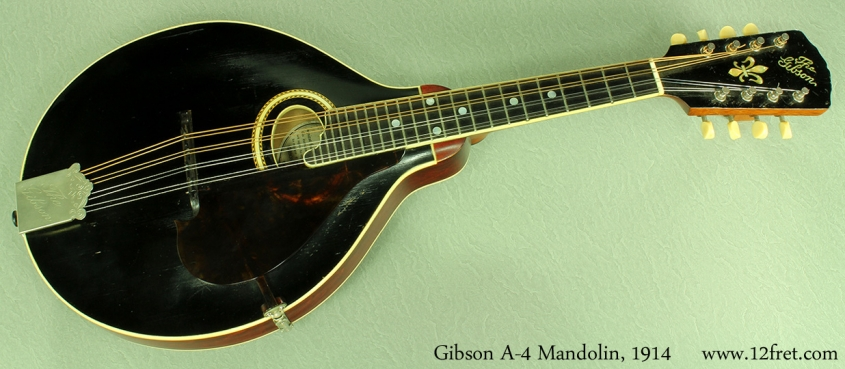 Gibson a-4 mandolin 1914 full front