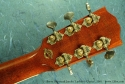 Gibson Advanced Jumbo Luthiers\' Choice 2001 headstock rear