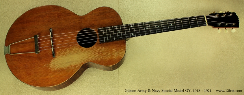 Gibson Army Navy Special GY 1920 full front