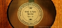 Gibson Army Navy Special GY 1920  label
