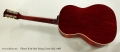 Gibson B-25 Steel String Guitar Red, 1968 Full Rear View