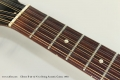 Gibson B-25-12-N 12 String Acoustic Guitar, 1963 Fingerboard Detail View