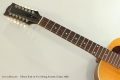 Gibson B-25-12-N 12 String Acoustic Guitar, 1963 Neck Front View