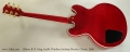 Gibson B. B. King Lucille Thinline Archtop Electric, Cherry, 2005 Full Rear View