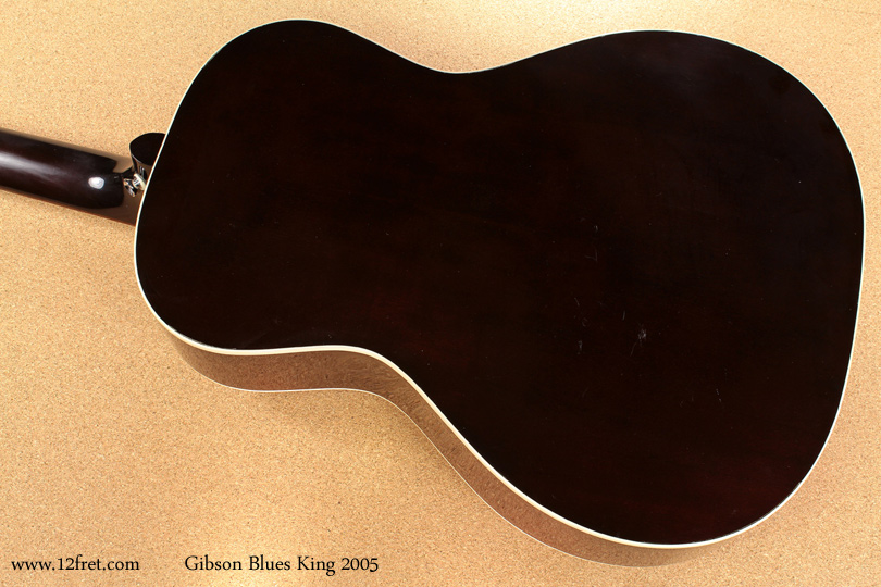 Gibson Blues King 2005 back