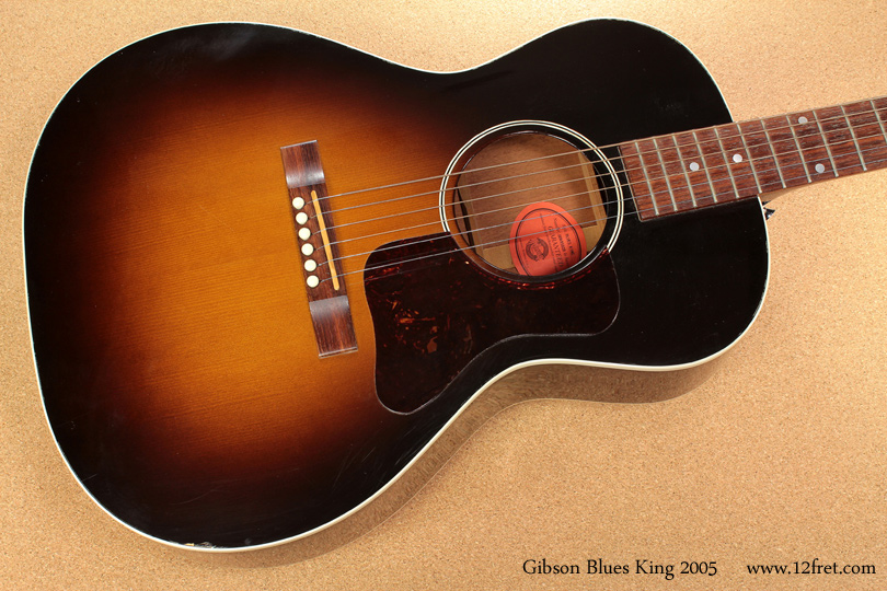 Gibson Blues King 2005 top