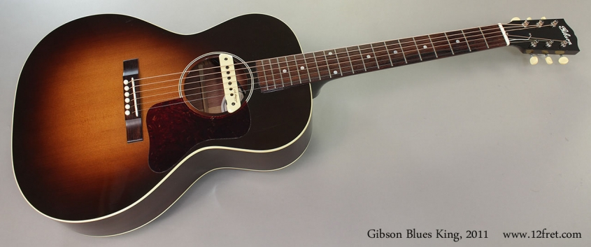 Gibson Blues King, 2011 Full Front View