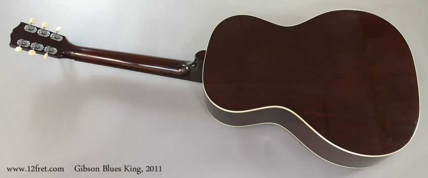 Gibson Blues King, 2011 Full Rear VIew