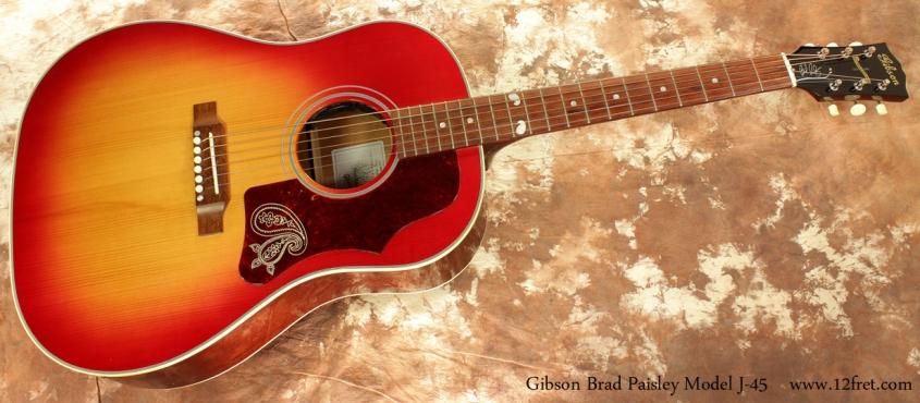 Gibson Brad Paisley Model J-45 full front view