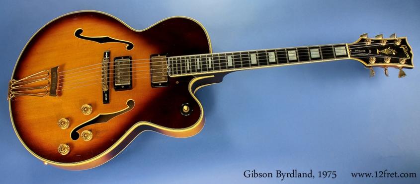 Gibson Byrdland 1975  full front