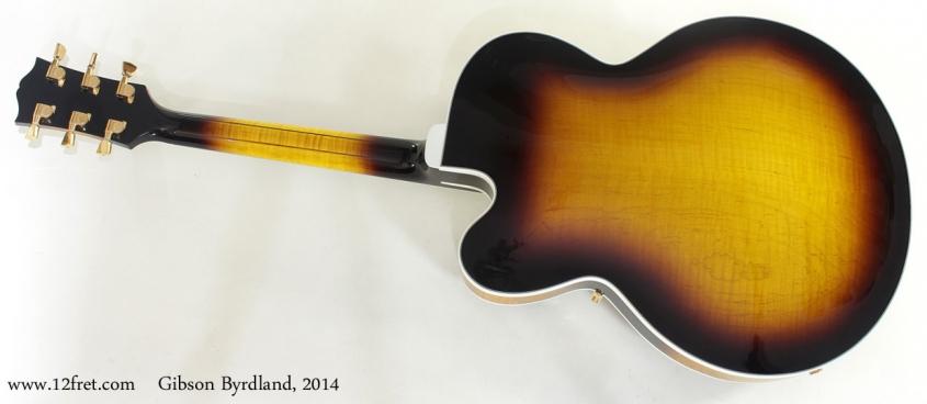 Gibson Byrdland 2014 full rear view