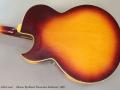 Gibson Byrdland Florentine Sunburst, 1969 back