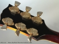 Gibson Byrdland Florentine Sunburst, 1969 head rear