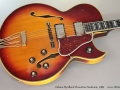 Gibson Byrdland Florentine Sunburst, 1969 top