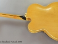 Gibson Byrdland Natural, 1959 Full Rear View