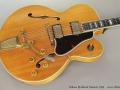 Gibson Byrdland Natural, 1959 Top