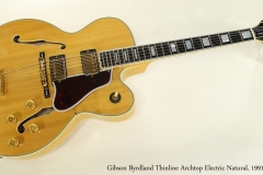Gibson Byrdland Thinline Archtop Electric Natural, 1991  Full Front View